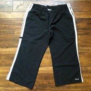 Reebok capri track pants